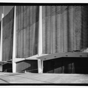 Photograph, Astrodome, Detail Of North Facade