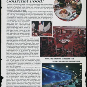 """"""". . . Any Style! Gourmet Food"""""""