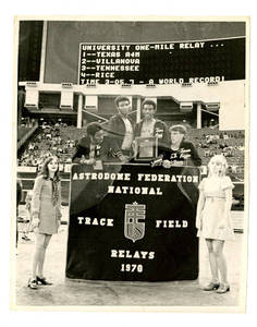 Photograph, Astrodome Track and Field