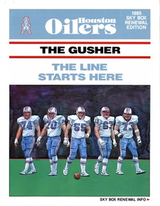 """The Gusher: The Line Starts Here"""